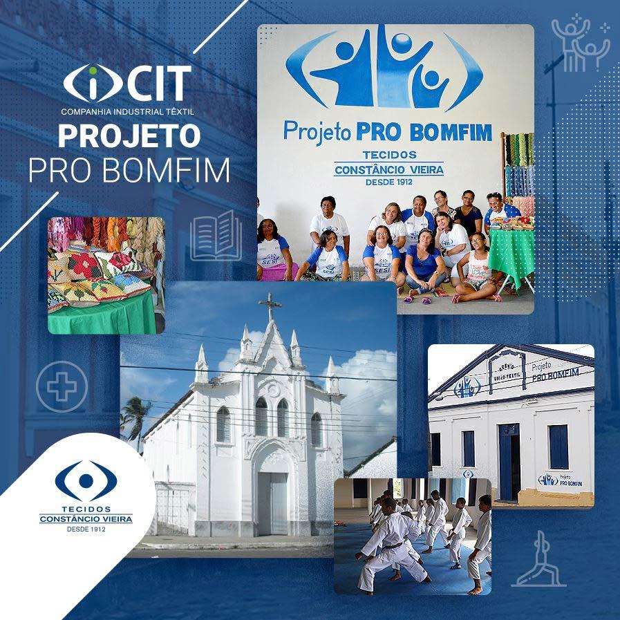 Projeto Pro Bomfim, multiplicando o bem!